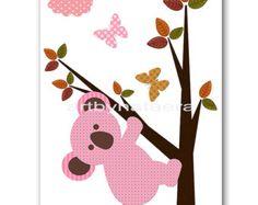 Fox Nursery Print Baby Nursery Art Digital by nataeradownload