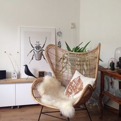 #HKLiving egg chair. The new addition to my living room