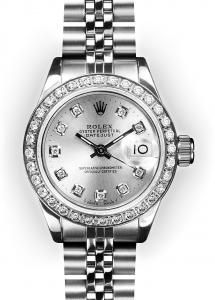 Rolex-A great timepiece for jeans or a little black dress...perfect for me!