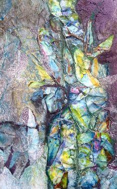 """Saatchi+Online+Artist+Helena+Brandt;+Mixed+Media,+""""""""Lichens""""""""+#art"""