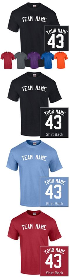 Baseball Shirts and Jerseys 181348: Set Of 12 Youth Baseball/Softball Shirts With Team Name, Player Name And Number BUY IT NOW ONLY: $139.95