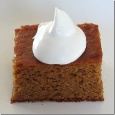 Grain Free Pumpkin Gingerbread Cake