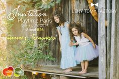 """We are delighted to invite you to see Leny Tomy Factory's new SS2015 collection """"Summer Treasures"""" at Playtime Paris Fair, 5-6-7 July, at our Stand B26!  If you would like to make appointment please send e-mail: sales@lenytomyfactory.com #playtimeparis #lenytomyfactory #ss15 #newcollection #summer #treasures #kidsfashion #paris #madeinlatvia #latviandesigner"""
