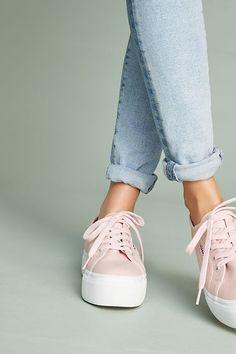 Slide View: 2: Superga Platform Sneakers