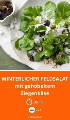 Winterlicher Feldsalat - mit gehobeltem Ziegenkäse - smarter - Kalorien: 227 kcal - Zeit: 30 Min. | eatsmarter.de
