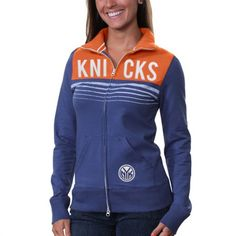 '47 Brand New York Knicks Ladies Playoff Track Jacket