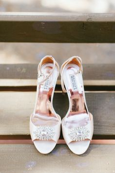 Palest pink bridal heels Photography: Wai Reyes - waiphoto.com