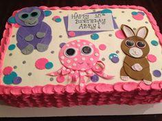 Big Eye Beanie Boo Cake