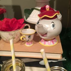 Belle / Beauty and the Beast Birthday Party Ideas | Photo 2 of 13