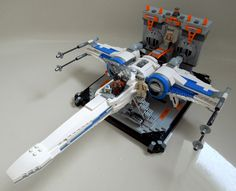 Star Wars: Resistance X-Wing in Hangar. #Lego #StarWars