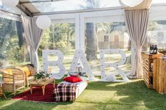 As South Africa's premier Wedding Planners based in Cape Town, we are dedicated to the Art of Distinctive Celebrations. Wedding Lounge, Luxury Wedding, Light Up Bar Sign, Bar Signs, Wedding Planner, Relax, African, Concept, Table Decorations