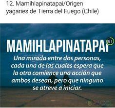Origen Yaganes de Tierra del Fuego, Chile