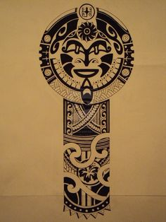 Tongan Tattoos with Meanings | Polynesian tattoo pattern for Jocomella by Bogancspihe