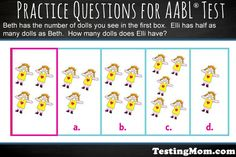 Can your child solve this practice question from the #AABL?