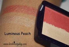 First Glimpse: Oriflame The One Illuskin Blush Swatches