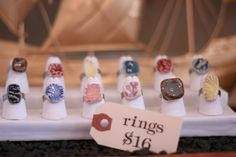 Pottery for Peace Rings - @ Brick & Mortar Living
