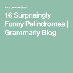 "What is a palindrome? According to The Oxford English Dictionary the word is based on Greek root words meaning ""back"" and ""running."" Palindromes are words… Oxford English, English Fun, English Language, Spelling Activities, Home Activities, Listening Activities, Vocabulary Strategies, Vocabulary Games, Root Words"