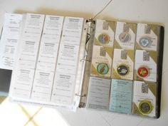 Organize your Scouts awards
