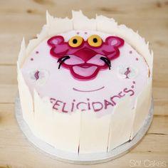 Pink Panther Layer Cake