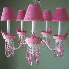 Baby discussion for Moms: Light up your kids room with charming chandeliers!