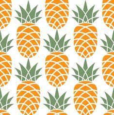 Cute Pineapple, Pineapple Pattern, Pineapple Print, Framed Canvas Prints, Canvas Frame, Pineapple Illustration, Pineapple Wallpaper, Kitchen Artwork, Arabesque