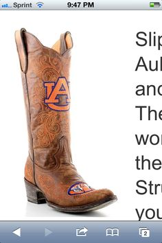 Game day boots!