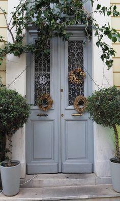 Athéni ház ajtaja