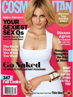 Cosmopolitan September 2011 #DiannaAgron #Glee
