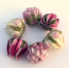 BLISS Tulip and Peony Color Story handmade by ByHeatherDavis
