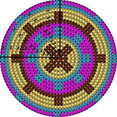 Tapestry Crochet Patterns, Crochet Dolls Free Patterns, Crochet Stitches Patterns, Crochet Shell Stitch, Filet Crochet, Crochet Motif, Crochet Purses, Crochet Hats, Crab Stitch