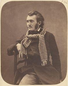 Gustave Doré Nadar 1856-1858 Felix Nadar one of first Portrait Photographer in Paris.