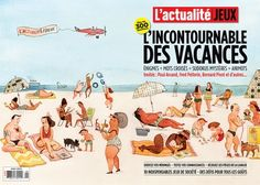 Janice Nadeau's illustration is appearing on the cover of L'actualité's summer special issue.
