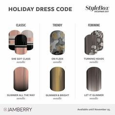 December Stylebox 2017 #Stylebox https://hanjamuk.jamberry.com/uk/en/stylebox