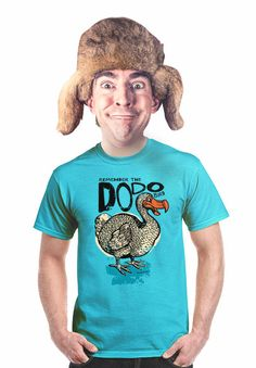 dodo t-shirt extinct animals endangered species