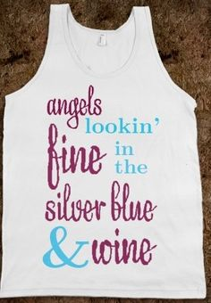 Pi Beta Phi: Angels lookin' fine in the silver blue and wine! #piphi #pibetaphi