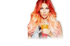 Bonnie McKee... If only I could get away with this hair!