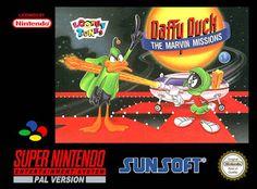 Emularoms: Daffy Duck Marv. Miss (Br) [ SNES ]