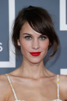 Alexa Chung hair: First look at her L'Oreal campaign! photo - sofeminine