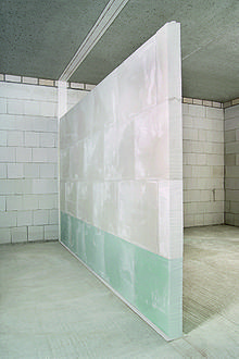 Gypsum block - non-load bearing partition wall. Wikipedia