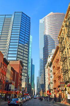 New York City today. Midtown Manhattan