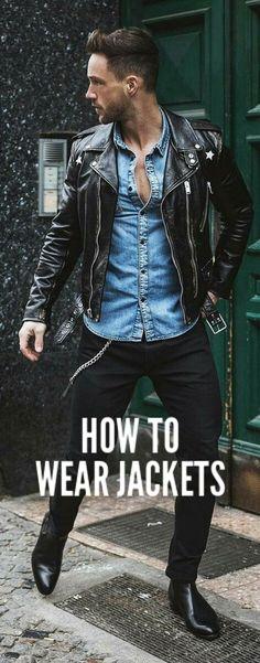 Level up your jacket game. #mensfashion