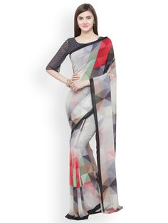 Buy Hug Collection of sarees Like Designer Saree,Wedding Sarees,Cotton Sarees,Party wear Saree and More For All Occasion And Festival, Shop Now Get Discount Up to Off Cash On Delivery Available ! Grey Saree, Duster Coat, Jackets, Fashion, Down Jackets, Moda, Fashion Styles, Fashion Illustrations, Jacket