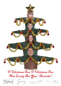 """2003 - """"O Christmas Tree, O Christmas Tree, How Lovely Are Your 'Branches'"""""""