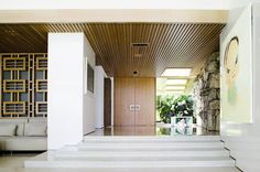 1957 Isabel Trust Residence | Architect: W. McAllister | Trousdale Estates, Beverly Hills, CA Design firm Marmol Radziner restored the original spirit and character of the house, while updating the...