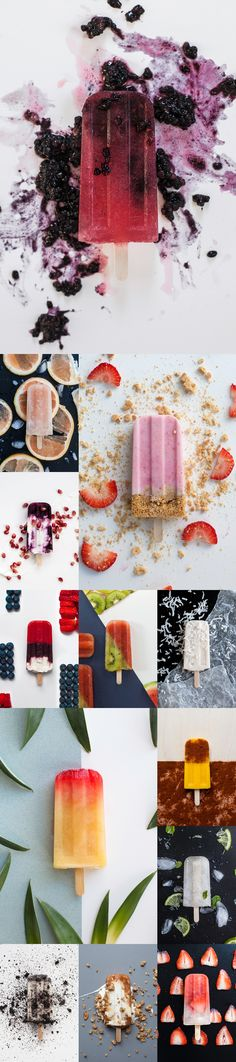 """(Student Work)Pop Shop is a fictional store that creates gourmet pops in a wide variety of flavors; ranging from fruity to even alcoholic. Every pop is """"made with love"""" through an emphasis on fresh ingredients and a """"made-from-scratch"""" philosophy."""
