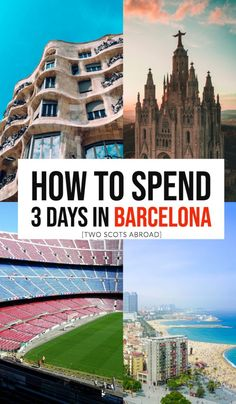 How to spend 3 days in Barcelona, Barcelona itinerary in 3 days. Best things to do in Barcelona in 3 days, Long weekend in Barcelona, Barcelona travel tips, Barcelona bucket list y #Barcelona #Spain #Europebucketlist