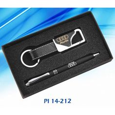 Leather Keychain Gift Box 2 in 1 Gift sets, Promotional Gift Sets…