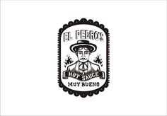 Logo design for El Pedro's Hot Sauce by RadioStar #POTD99 09.13.2013 #awesomesauce