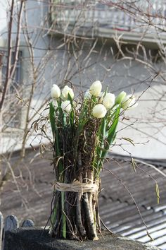 Tulpen Arrangements, Spring Time, Glass Vase, Easter, Plants, Wedding, Home Decor, Tutorials, Free