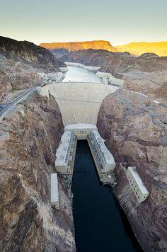 Hoover Dam,Nevada,US